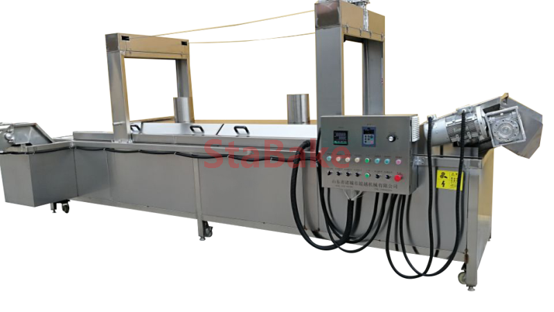 Automatic Continuous Frying Machine