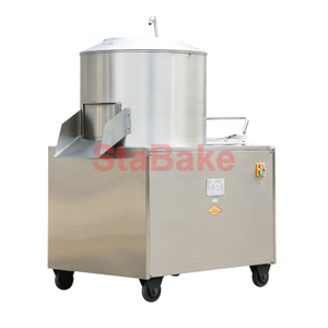 Commercial potato ginger peeling machine