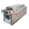 Industrial tunnel oven for pita bread arabic bread chapati with gas heating